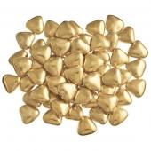 gouden chocoladehartjes